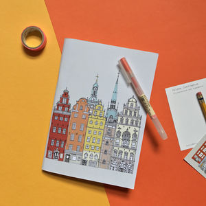Stockholm Cityscape Notebook - travel journals & diaries