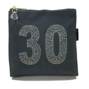 Rhinestone 30th Birthday Bag