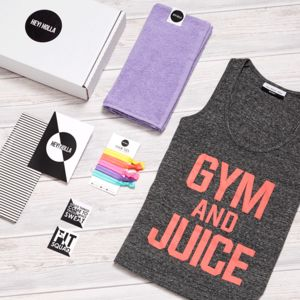 Gym And Juice, The Gym Top Fit Kit, Gift Box - vests & camisoles