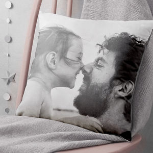 Personalised Single Or Double Sided Photo Cushion