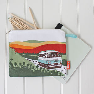Sunshine Camper Pouch - make-up & wash bags