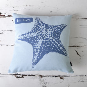 'La Mer' Nautical Cushion Cover