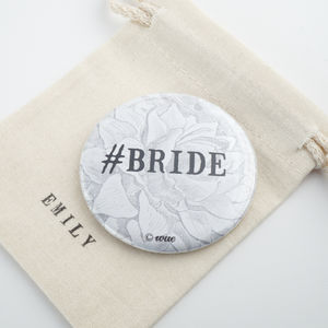 #Bride Pocket Mirror - compact mirrors
