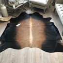 Cowhide Rug White Spot Mid West Aura