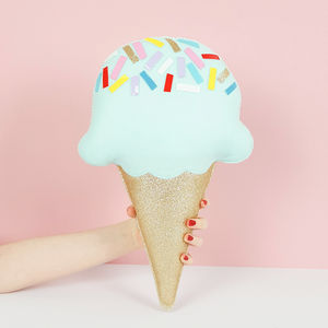 Ice Cream Shaped Decorative Cushion - what's new
