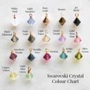 swarovski crystal colour chart