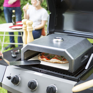 Portable Gourmet Bbq Pizza Oven - foodies