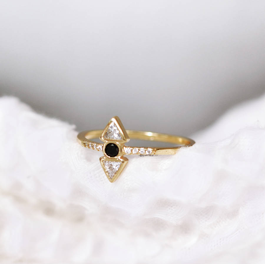 item ring karl geometric solomon lagerfeld diamond collection engagement brothers rings inspiration e pave interlocking