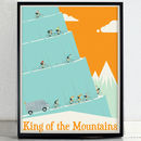 King Of The Mountains Tour De France Poster Art Print