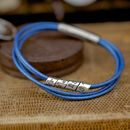 Electric Blue Soho Scroll Bracelet
