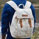 Desert Sand Columbus Canvas Backpack