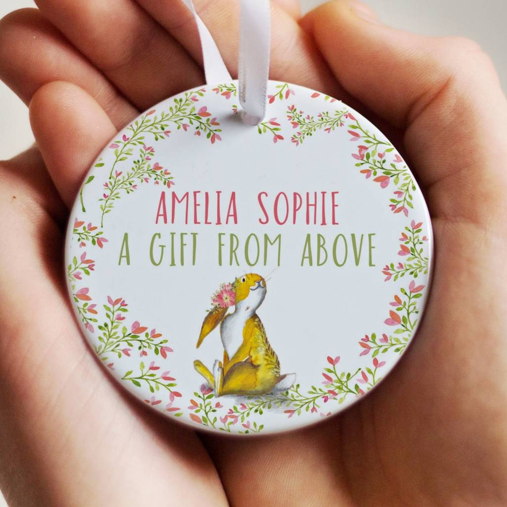 Personalised Christening Gift A Gift From Above