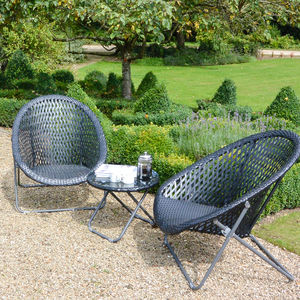 Three Piece Bistro Set - garden furniture