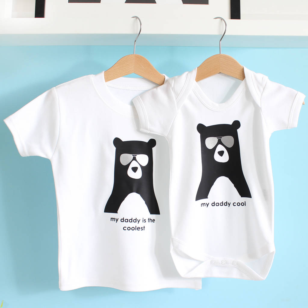 ea2f4d88 daddy cool, personalised babygrow or t shirt by heather alstead ...
