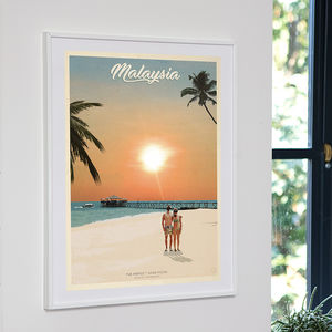 Bespoke Travel Adventures Print - best valentine's gifts for him