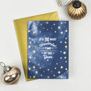 Wonderful Time Of The Year Foiled Christmas Card Set