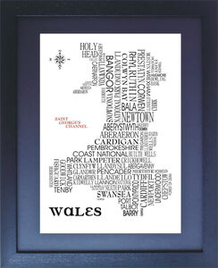 Wales Word Map