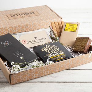 'The Chocolate Box' Letterbox Gift Set - chocolates