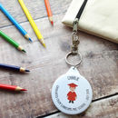 Preschool Graduation Badge Or Keyring