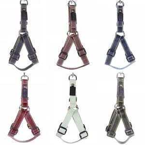 Leather Dog Harness - pets
