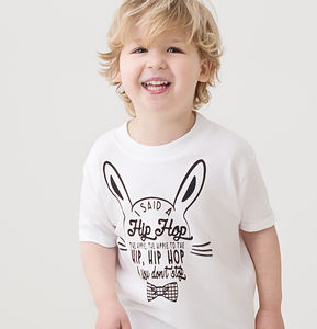 Hip Hop Cool Bunny T Shirt