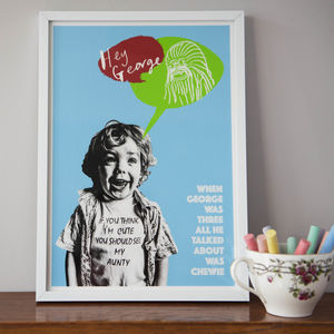 Personalised 'Out Of Their Minds' Children's Portrait