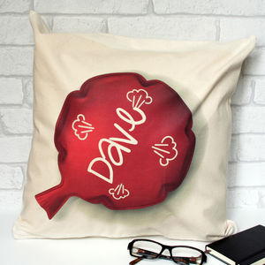 Personalised Funny Whoopsee Cushion - living room