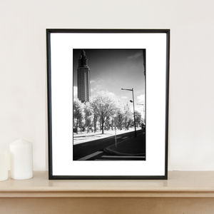 The Havre, France, Infrared Film Art Print