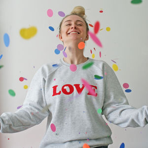 Love Sweatshirt - new in fashion
