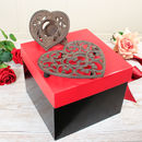 Personalised Trivet And Candle Holder Gift Set