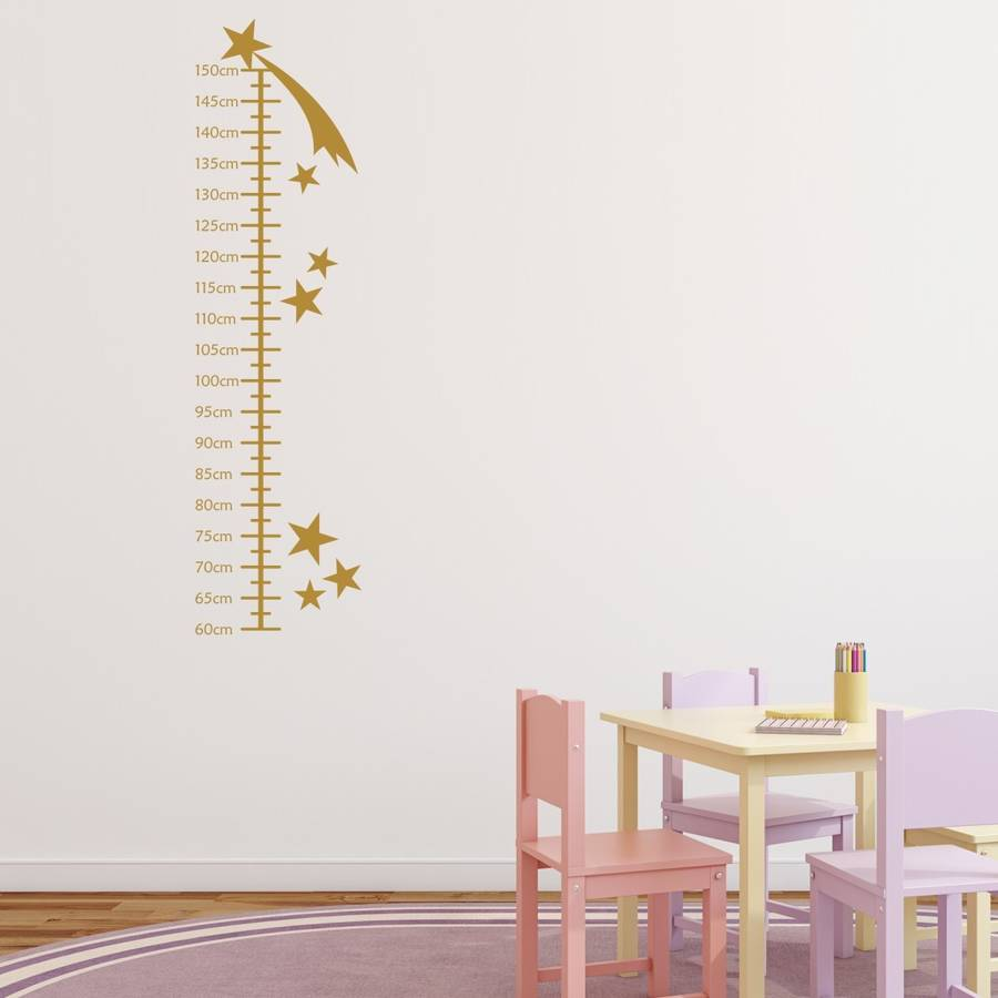 Shooting stars growth chart wall sticker by mirrorin shooting stars growth chart wall sticker nvjuhfo Gallery