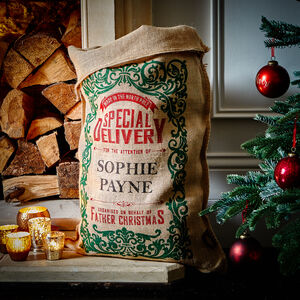 The Robertson Personalised Christmas Sack