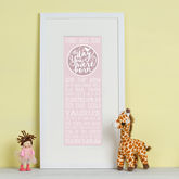 Personalised 'The Day You Were Born' Print - gifts for babies & children