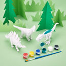 Paint Your Own Dinosaur Kit
