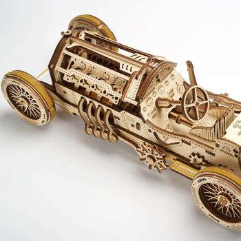 Mechanical Moving Model Grand Prix Car By Ugears