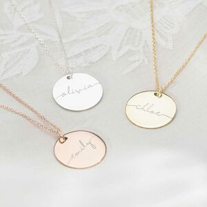 Large Esme Personalised Name Necklace