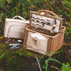 Explorer Hamper With Bottle Holders - camping