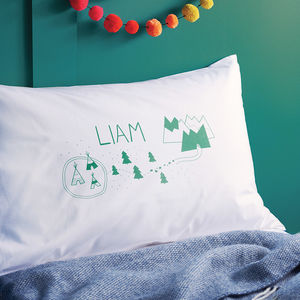 Personalised Magic Forest Pillow Case - gifts for babies & children