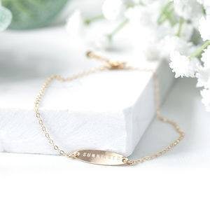 Delicate Gold Sunkissed Anklet