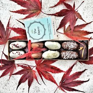 Luxury Chocolate Dates Small Gift Box - luxury chocolates