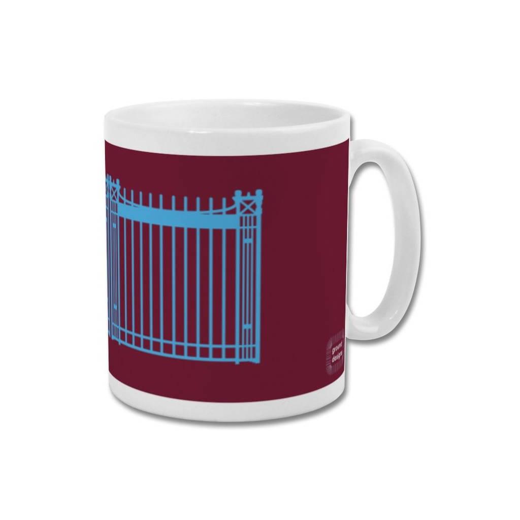'Boleyn Gates' Minimalist Graphic West Ham United Mug