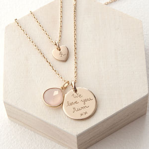 Personalised Layering Necklace Set - gifts for mothers
