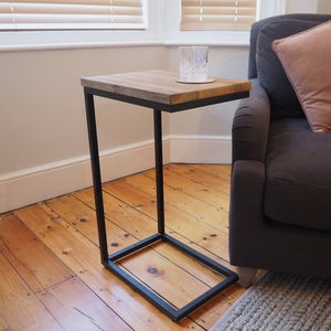 Industrial Sofa Side Table - side tables