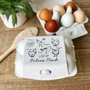 Egg Box Set Personalised With Your Flock