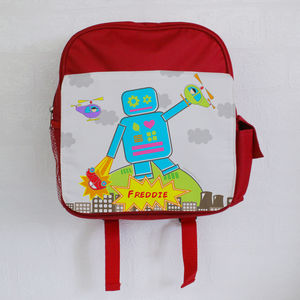 Personalised Robot Backpack
