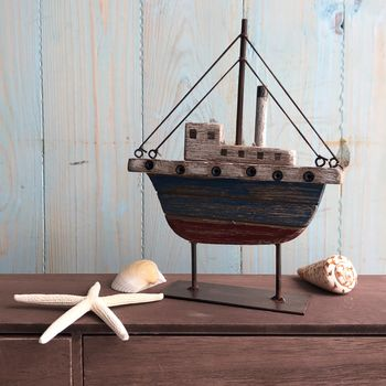 Nautical Tug Boat Ornament