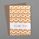 Windmills Thank You Card