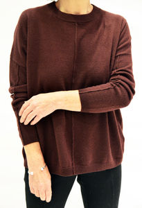 100% Cashmere Boxy Jumper - women's fashion