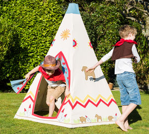 Children's Wild West Teepee Tent - free delivery gifts