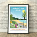 Grange Over Sands Promenade, Cumbria Print